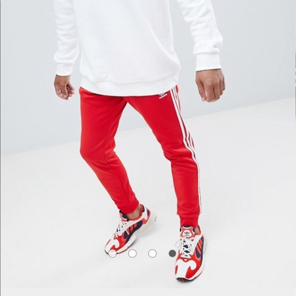 53f076738 adidas Other - Red Adidas Track Pants Men's